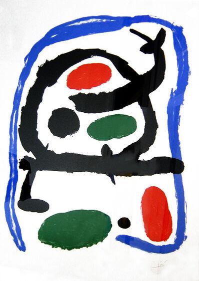 Joan Miró, 'Musée National d'Art Moderne', 1962
