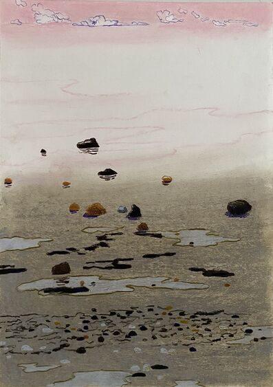 Per Adolfsen, 'Low Tide Seden Beach', 2020