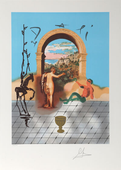 Salvador Dalí, 'Gateway to the New World from the Dali Discovers America Portfolio', 1979