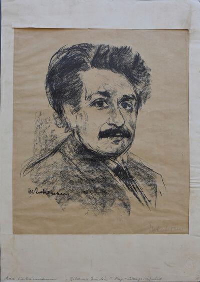 Max Liebermann, 'Portrait Albert Einstein', 1925
