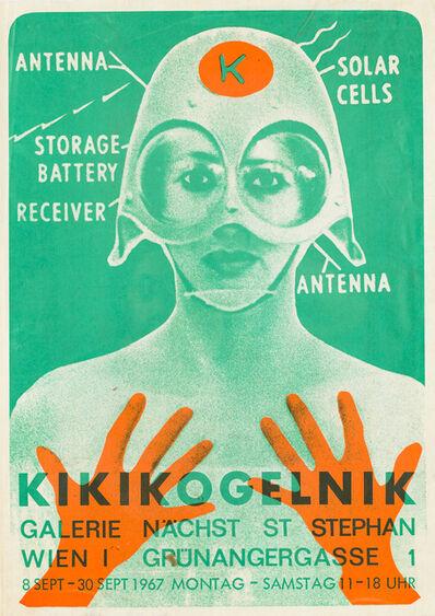 Kiki Kogelnik, 'KIKIKOGELNIK, 1967 (exhibition poster)', 1967