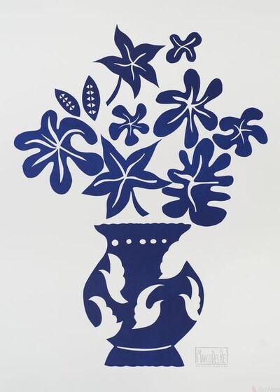 Marco Del Re, 'Vase IV Bleu', 2008