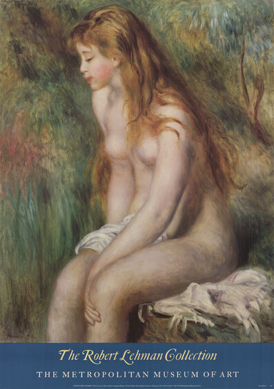 Pierre-Auguste Renoir, 'Young Girl bathing', 1987
