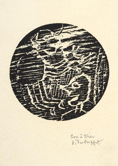 Jean Dubuffet, 'Vignettes Lorgnettes - Paysage avec Deux Personnages', 1948