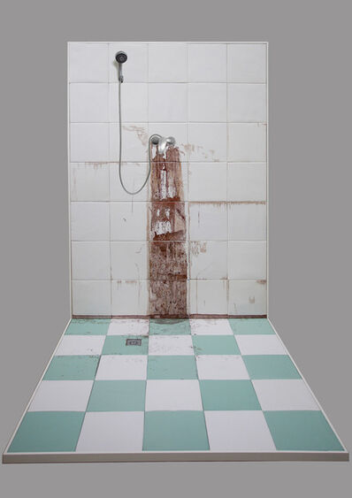Gao Rong, 'Winter Bathroom Wall', 2013