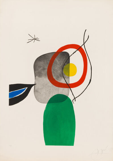 Joan Miró, 'Archery', 1972