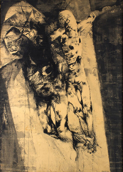 Renzo Vespignani, 'Crucifixion', 1963