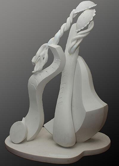 Won Choi, 'Ancient Cellist', 1999