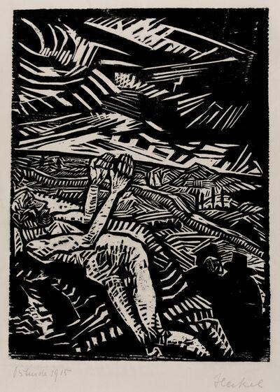 Erich Heckel, 'Verwundeter (Der barmherzige Samariter) (Wounded Man (The Good Samaritan))', 1915