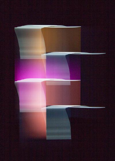 Luuk de Haan, 'Three Bridged Squares 1', 2013