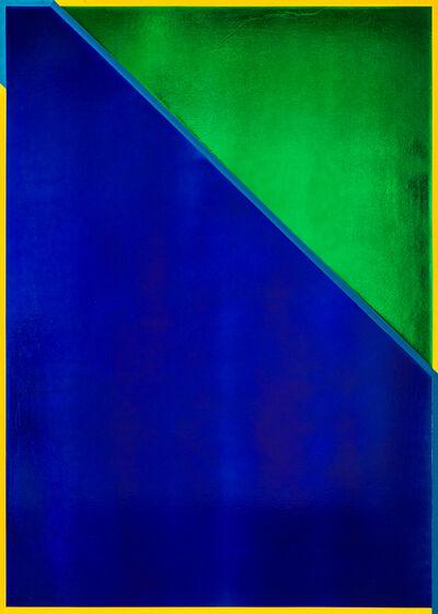 Jimi Gleason, 'Aqua Painting', 2020
