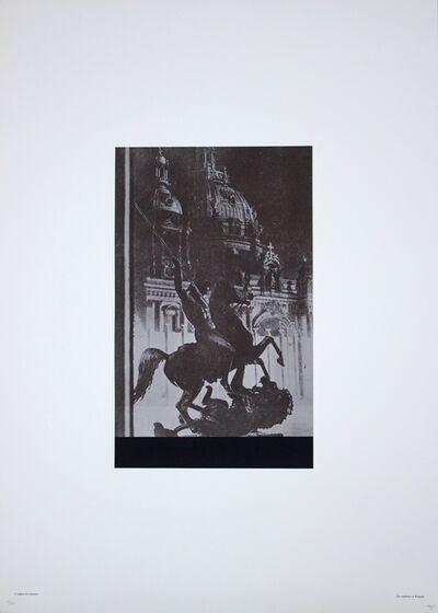 Fabio Mauri, 'Si Legano al Classico', 1976