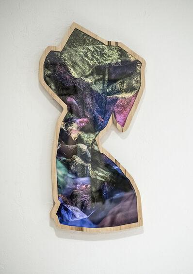 Kalee Appleton, 'Forest Stream I (Purple-Blue & Green)', 2018