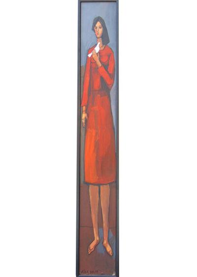 Alex Khattab, 'Tall Woman With Dove ', 2019