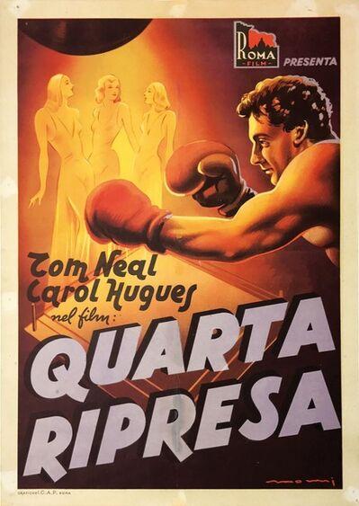 Pietro Monni, 'QUARTA RIPRESA', 1941