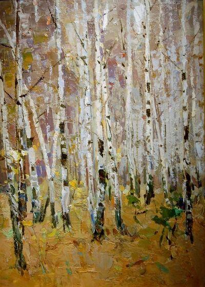 Fedor Zakharov, 'Birches', 1981