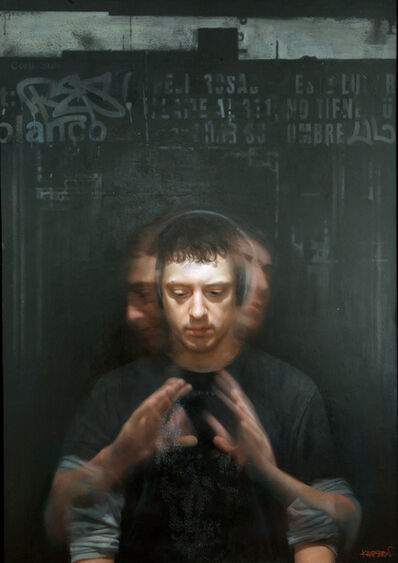David Kassan, 'Self Portrait in Motion', 2010