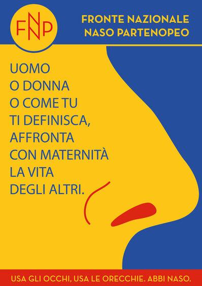 Anna Raimondo, 'FNNP (Fronte Nazionale Naso Partenopeo)', 2021