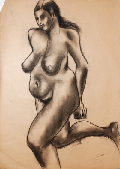 Irene Rice Pereira, 'Nude', 1928