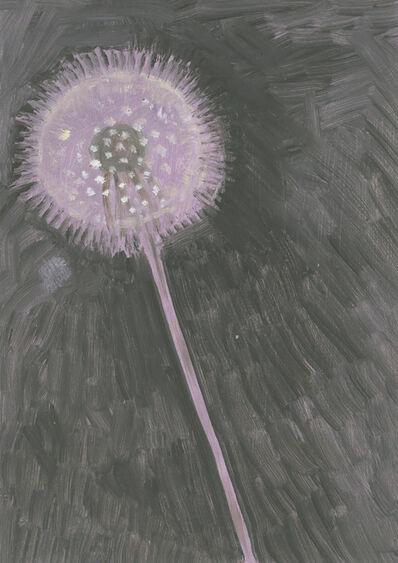 Lois Dodd, 'Dandelion Seedhead', 2012