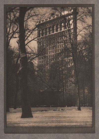 Alvin Langdon Coburn, 'The Flat-Iron', Neg. date: 1909 c. / Print date:1909