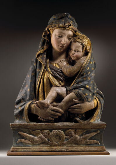 Lorenzo Ghiberti, 'The Madonna and Child', 1423-1440