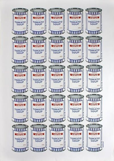 Banksy, 'BANKSY TESCO VALUE TOMATO SOUP CANS', 2006