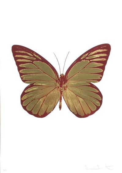 Damien Hirst, 'The Souls I, Oriental Gold Blind Impression Chillired', 2010