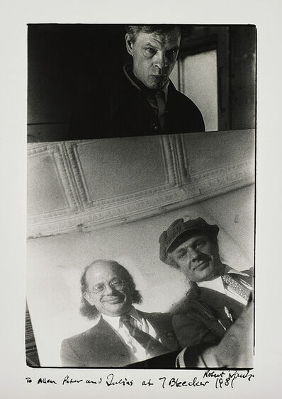 Robert Frank, 'Allen Ginsberg with Peter and Julius Orlovsky', 1981