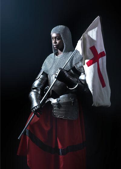 Nicolas Demeersman, 'Rewrite history in black - Jeanne d'Arc II', 2016
