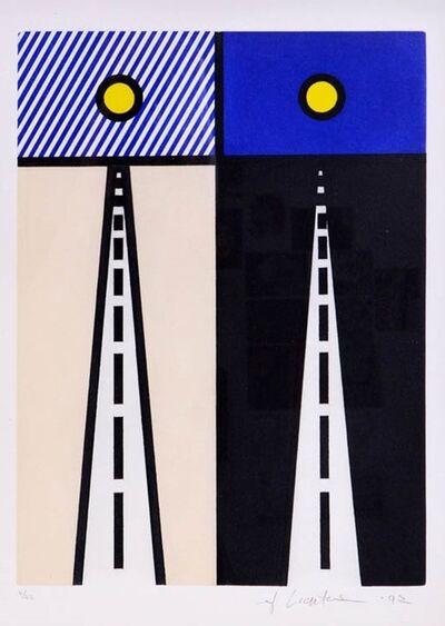 Roy Lichtenstein, 'Auto Poésie: En Cavale de Bloomington (Corlett 268)', 1922