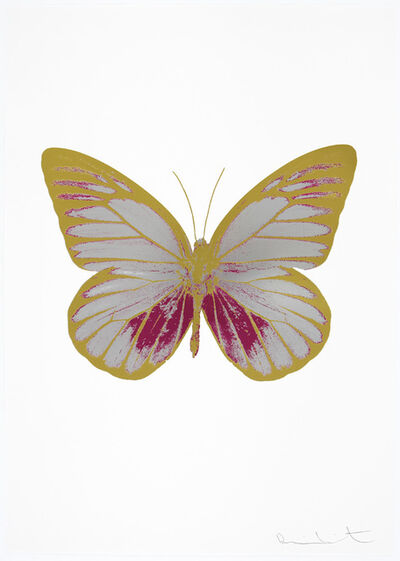 Damien Hirst, 'The Souls I  (Silver Gloss - Fuchsia Pink - Oriental Gold) ', 2010