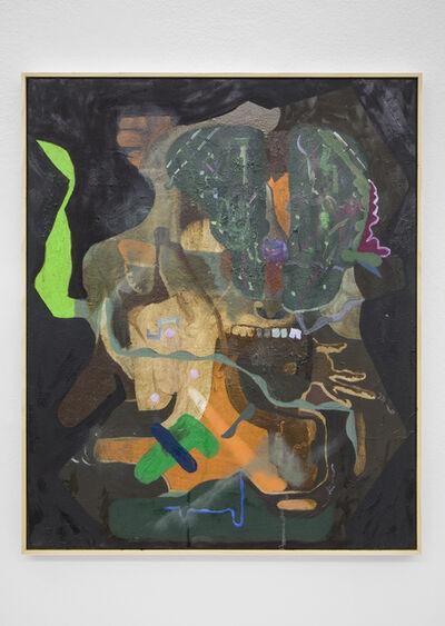 Michael Bauer, 'Men and Potassium (Pool Party)', 2016