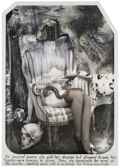 Joel-Peter Witkin, 'The Paris Triad: The Reader, Paris [巴黎三联:阅读者]', 2011