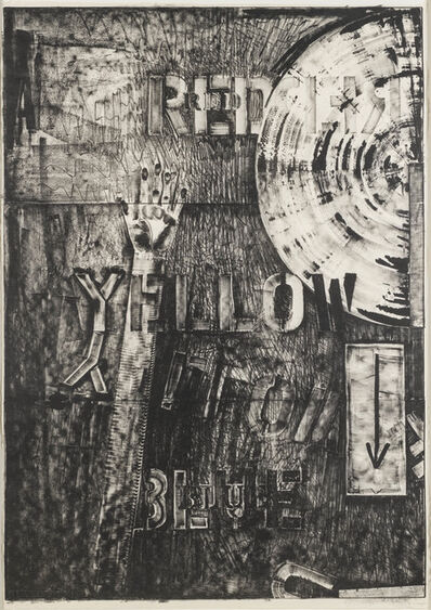 Jasper Johns, 'Land's End I', 1979