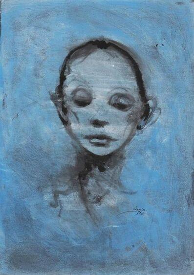 Enrico Colombotto Rosso, 'Ritratto Femminile'