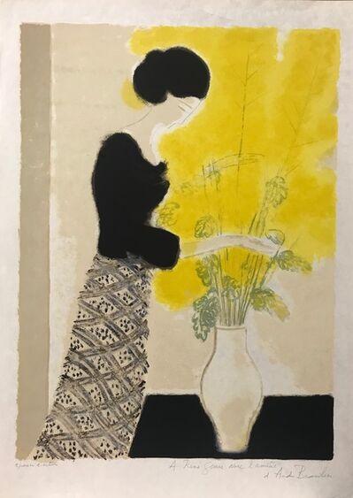 Andre Brasilier, 'La jupe écossaise', ca. 1975