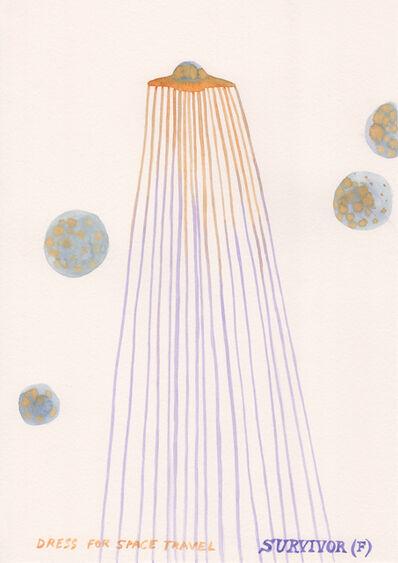 Suzanne Treister, 'SURVIVOR (F)/Fashion designs for space travel/Spaceship Dress with Orange Moons ', 2016-19