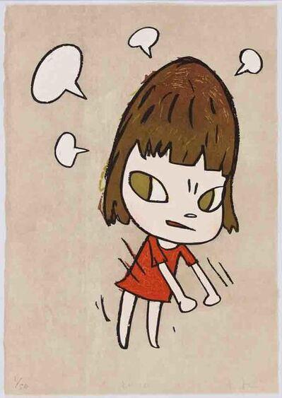 Yoshitomo Nara, 'Pissed Off', 2012