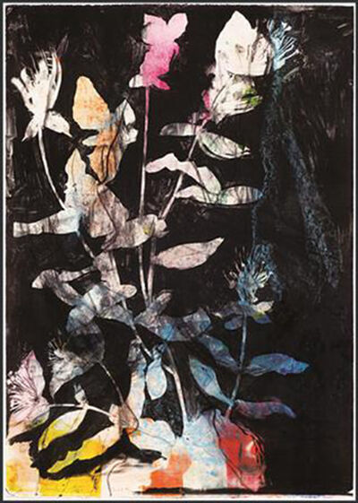 Jim Dine, 'Wild Flowers in The Night', 2014