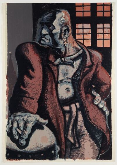 Peter Howson, 'The Noble Dosser', 1988