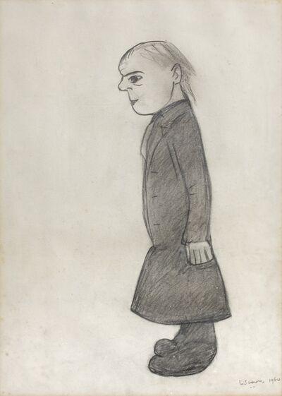 Laurence Stephen Lowry, 'Figure', 1964