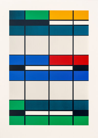 Roland Fischer, 'Façades on Paper IV - NAB, Melbourne', 2012