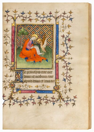 Mazarine Master, 'Book of Hours, use of Soissons or Laon', ca. 1405