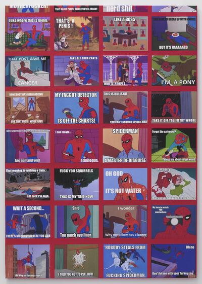 Mark Flood, 'Spiderman Meme Painting', 2014