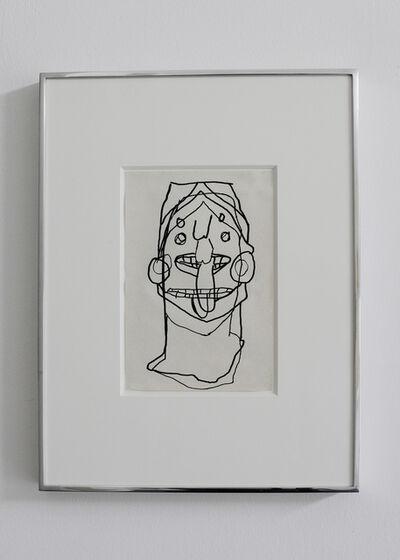 Yael Burstein, 'Study of Head ', 2015