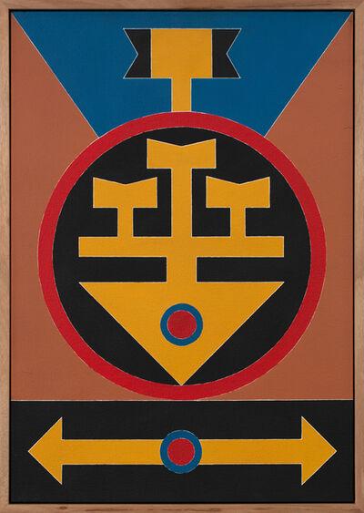 Rubem Valentim, 'Emblema 1986', 1986