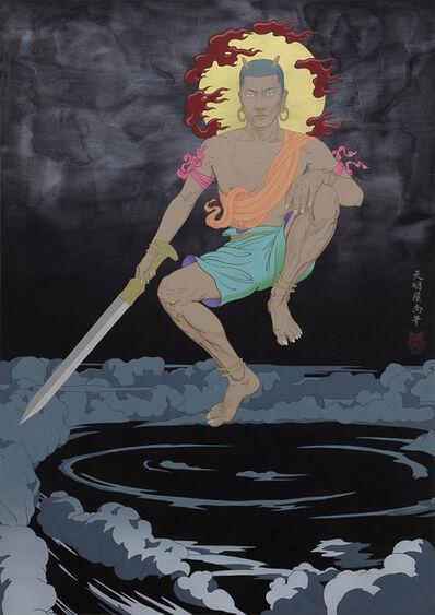 Tenmyouya Hisashi, 'Sword God', 2019