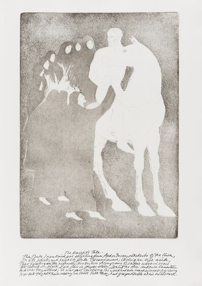 Elisabeth Frink, 'Etchings Illustrating Chaucer's Canterbury Tales (Wiseman 58-76)', 1972