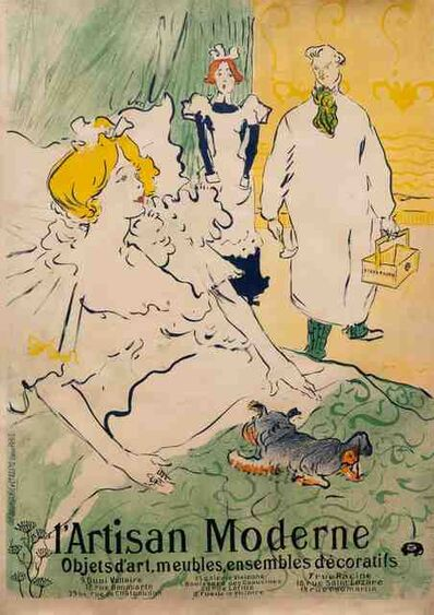 Henri de Toulouse-Lautrec, 'Le Prominoir (The Foyer)', 1899